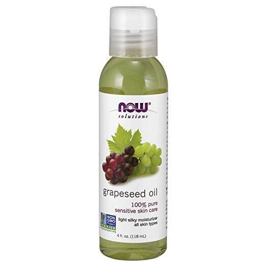 Now Solutions Grapeseed Oil, 4 Fl Oz (118 Ml) , Fulfilled By The Wise By The Wise.