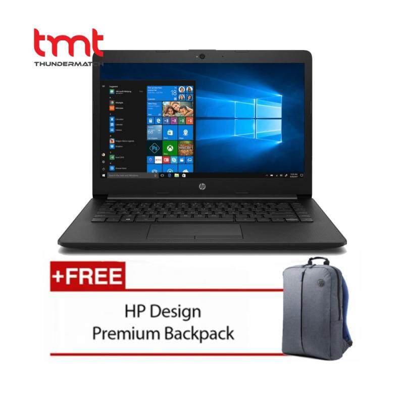 HP 14-ck0096TU | Celeron N4000 | 4GB DDR4 | 500GB | 14.0LED | Intel Share| NO ODD | W10 - Black Malaysia