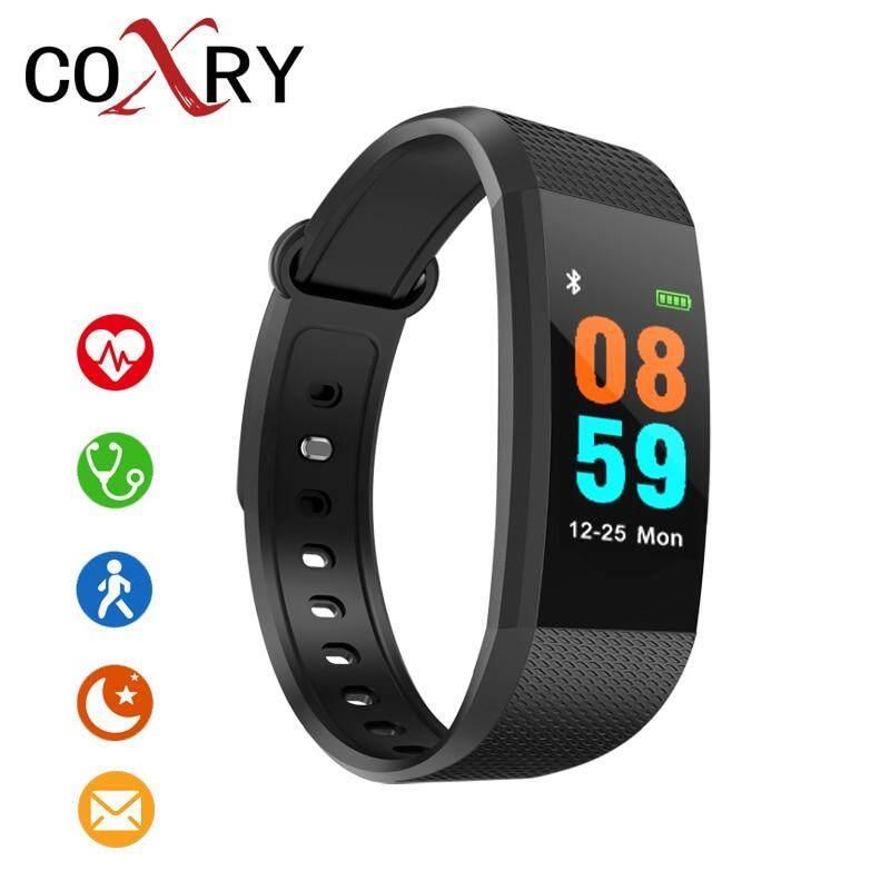 COXRY FitnesSmart Watch Women Android Sport WatcheFor Men Pedometer Digital Watch Blood Pressure Calorie Counter Wrist Watch Malaysia