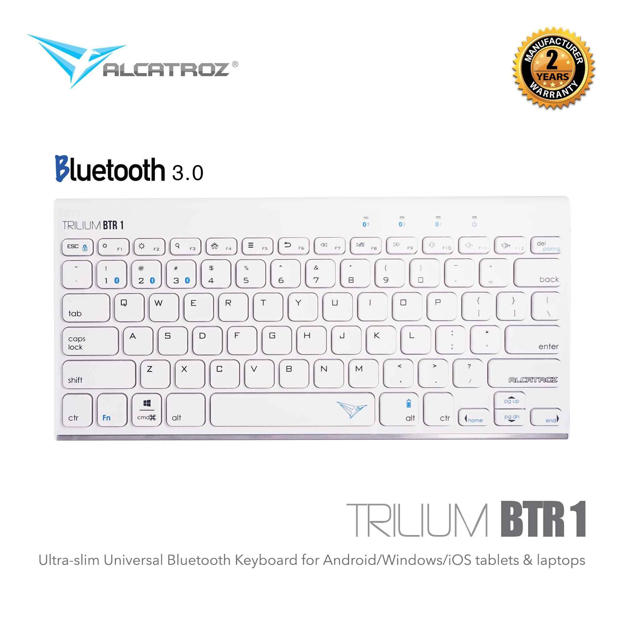 Alcatroz Computer Accessories Keyboards Price In Malaysia Best Xplorer 7770 Lfx Keyboard Mouse Trilium Btr 1 Ultra Slim Universal Bluetooth For Smartphones Tablets Laptops