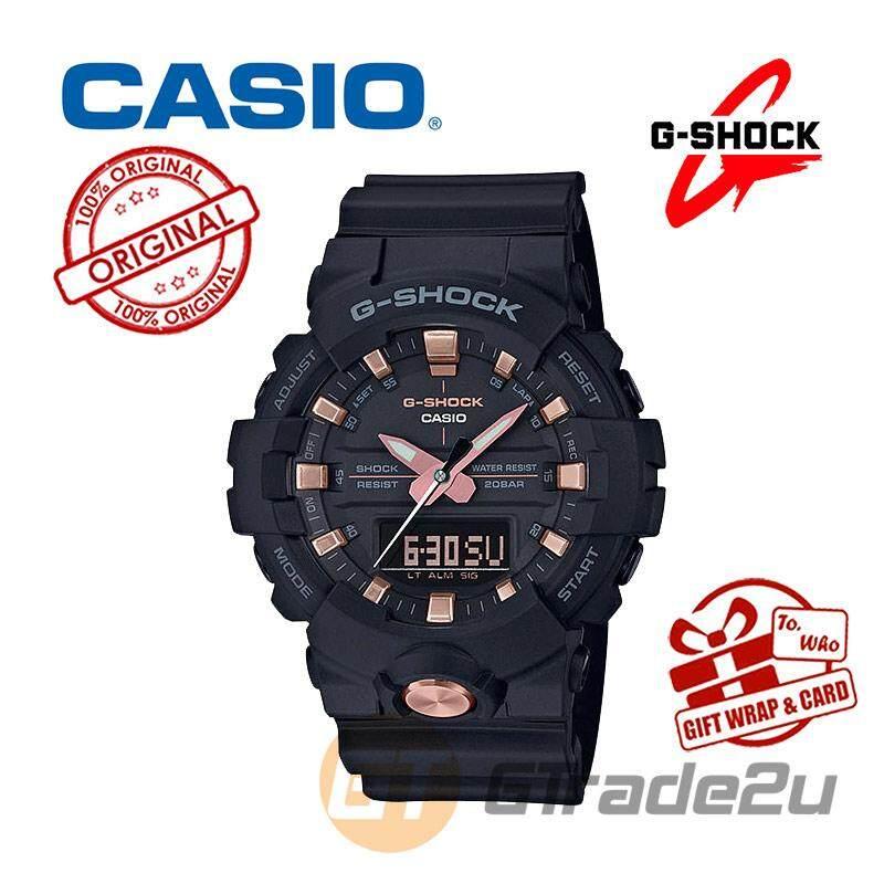 02078a1dd0b0 CASIO G-SHOCK GA-810B-1A4 Digital Watch Gold Buckle Edition
