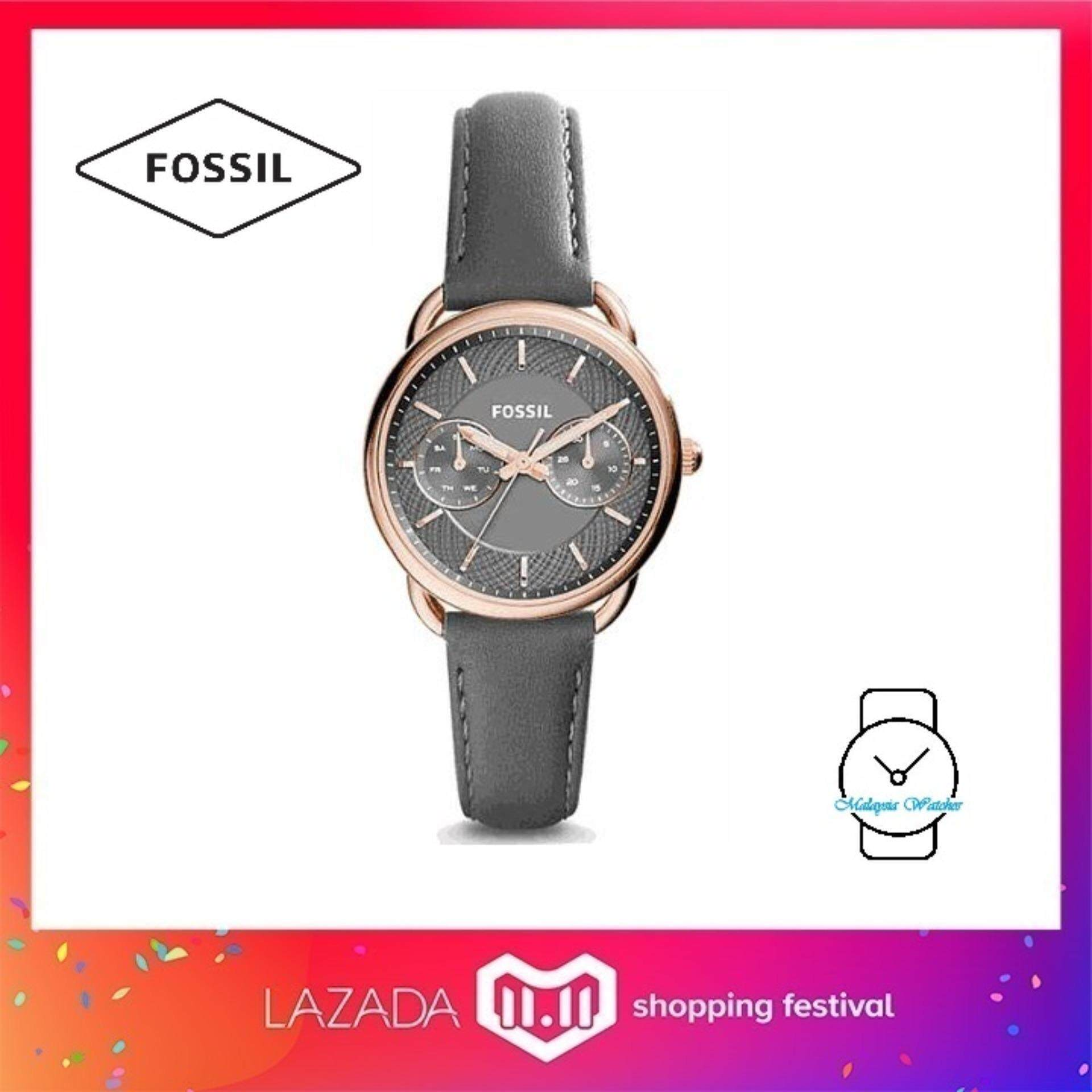 Buy Sell Cheapest Fossil Es3913 Women Best Quality Product Deals Es3590 Stella Multifunction Rose Tone Stainless Steel Watch Womens Tailor Gray Leather Grey Gold