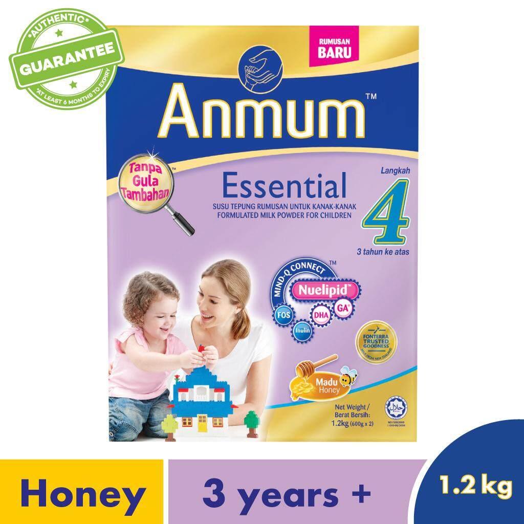 Anmum Essential Step 4 Honey 1.2kg By Lazada Retail Anmum.