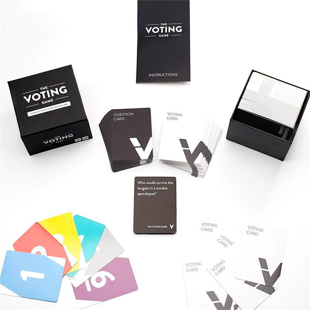 Ryt Board Games Cards The Voting Game Party Game With Your Friends Cards For Playing Board Games By Ryder Yi Trading.