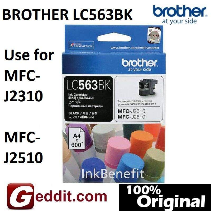 Brother Lc-563 Black Ink Cartridge For Mfc-J2310 , Mfc-J2510 Lc563 Lc563bk Lc563-Bk Lc-563bk Lc-563-Bk By Geddit Dot Com.