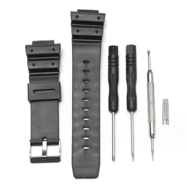 25mm Frosted Silicone Rubber Watch Band Strap For CASIO G Shock Replacement New Malaysia