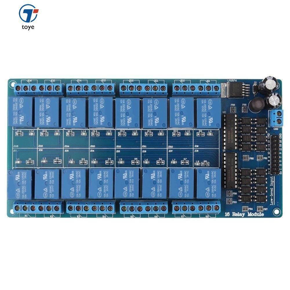 Toye Ethernet Control Module LAN WAN Network WEB Server RJ45 Port 16 Channel Relay