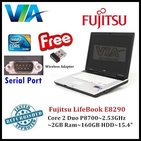 Refurb Fujitsu LifeBook E8290~C2D~2Gb Ram~160Gb HDD~15.4 Malaysia
