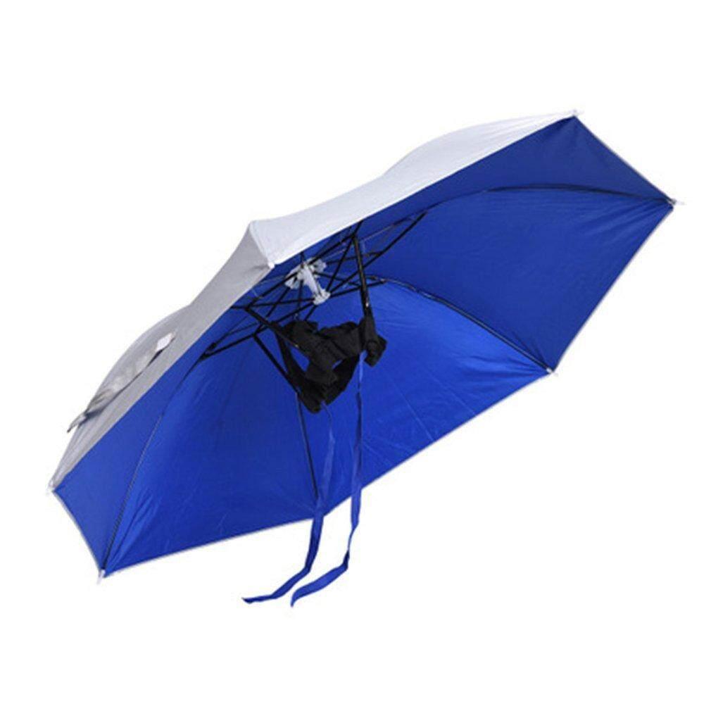 0ef2bb9d824bf Allwin Outdoor Foldable Sun Umbrella Hat Golf Fishing Camping Beach  Headwear Cap Singapore