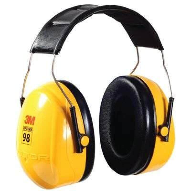 3M H9A PELTOR OPTIME 98 SERIES OVER-THE-HEAD EAR MUFF