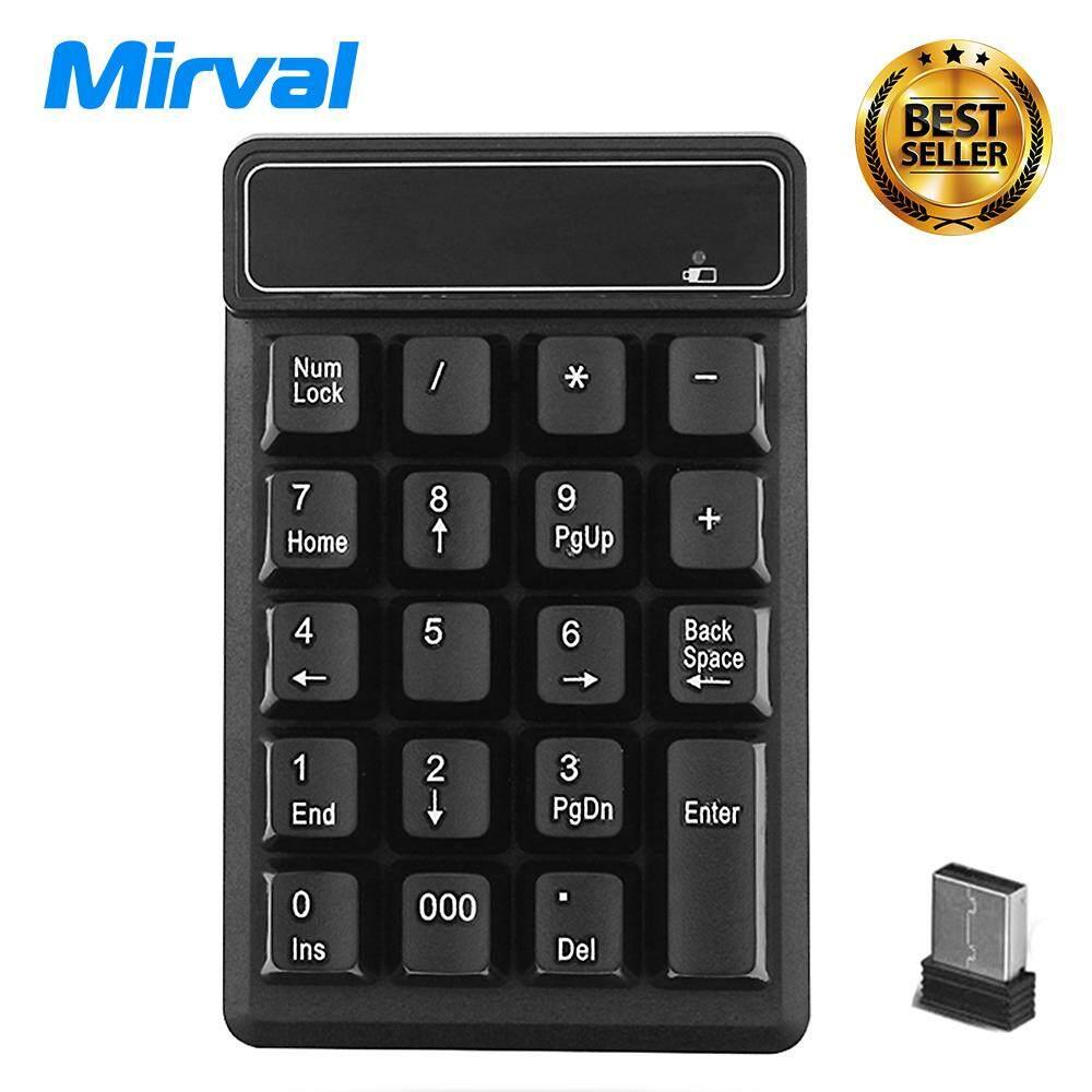 Mirval NK5 USB Numeric Keypad Wireless Keyboard Mini Digital Keyboard High Quality Number Pad Ultra Slim
