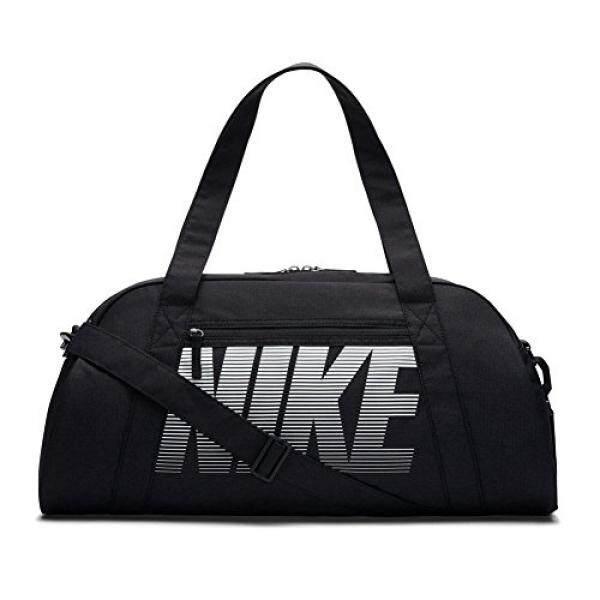 3a0562bc54b3d Nike Womens Gym Club Bag Black Black White One Size