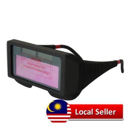 Solar Powered Auto Darkening Welding Glasses (BLACK)