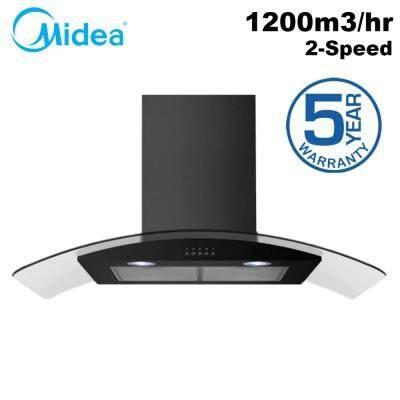 Midea Mch 90mv1 Kitchen Chimney Hood 1200m3 2 Sd