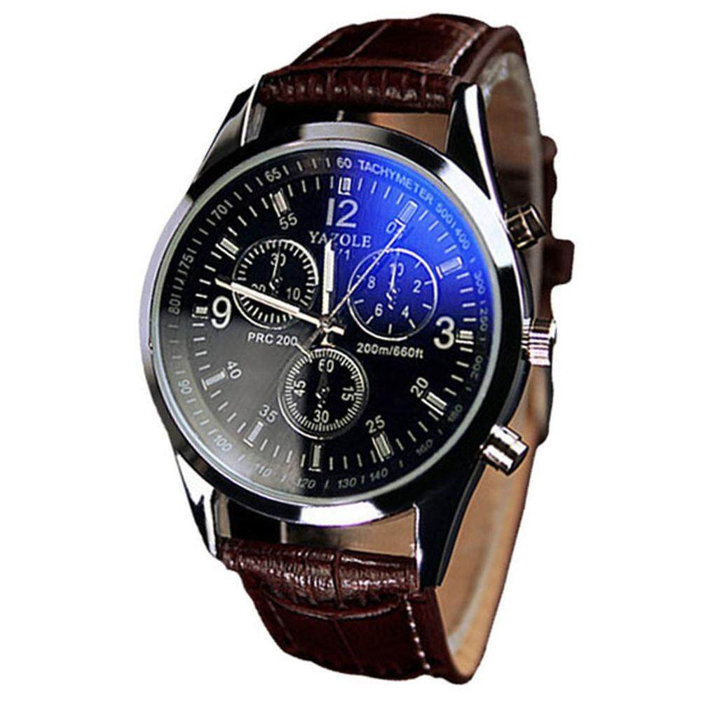 watch shshd rosivga quick view leather quartz index wrist watches men