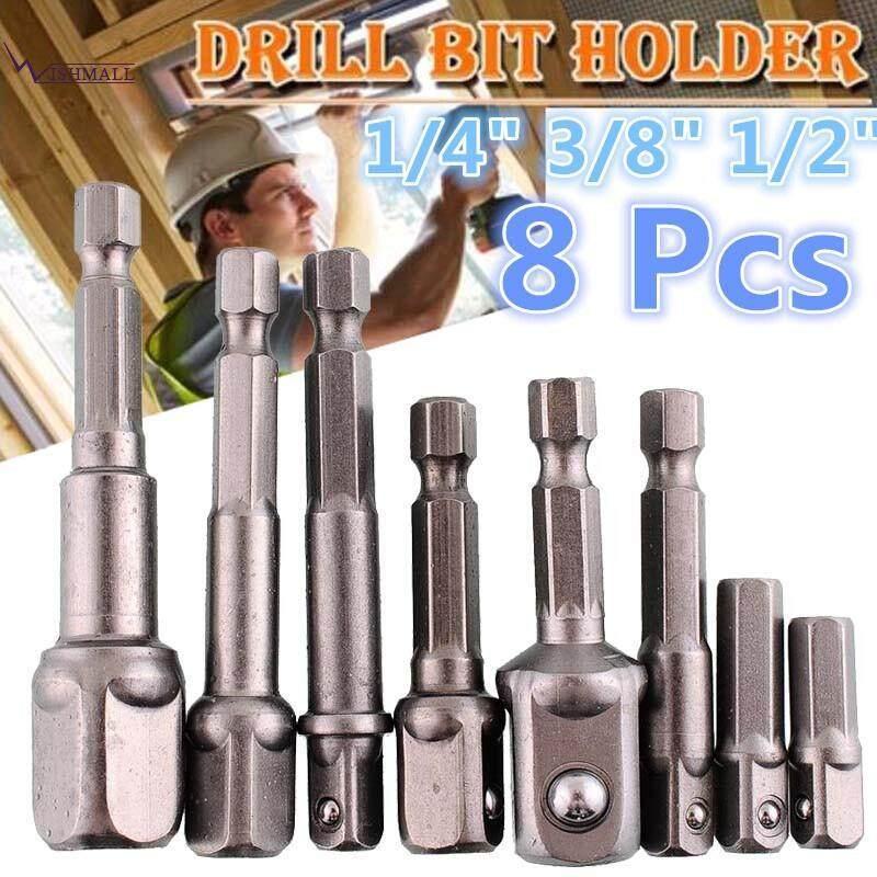 6pcs Socket Hex Adapter Power Set Impact Extension Driver Drill Bits Bar Tools