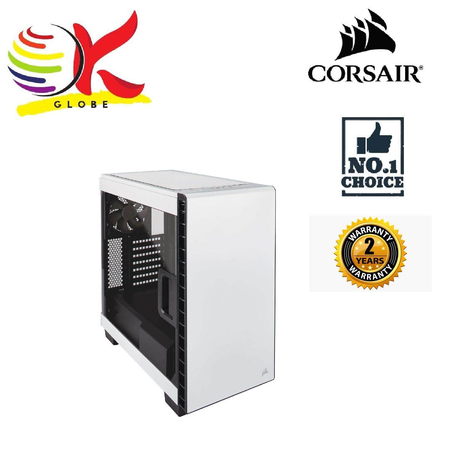CASING CORSAIR ATX CARBIDE 400C WHITE (CC-9011095-WW) Malaysia