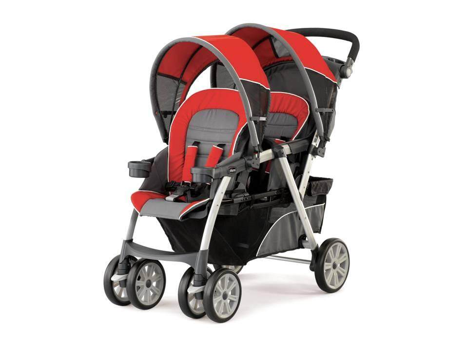 Chicco Cortina Together Double Stroller - Element