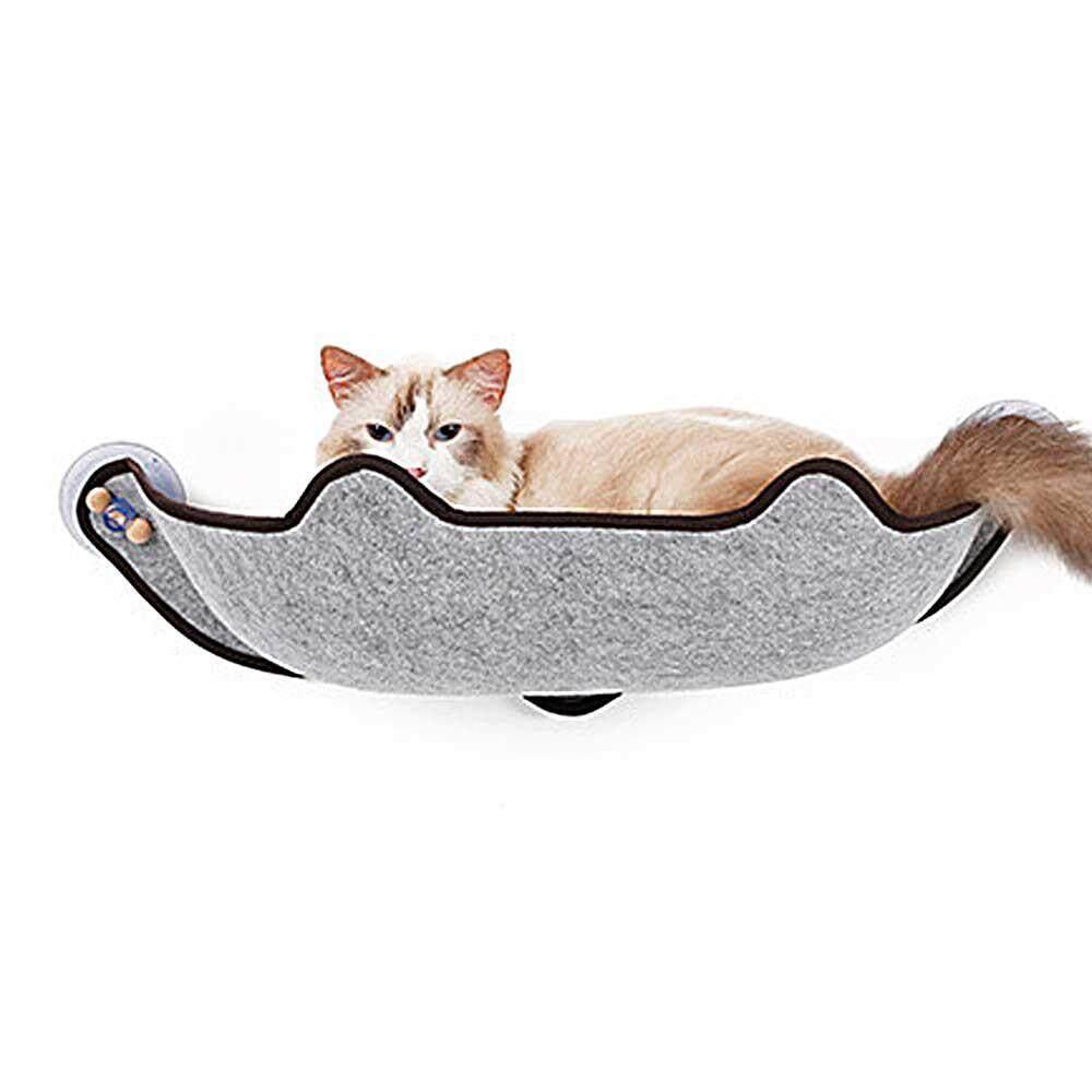 Pet Glass Sill Hanging Bed Cat Litter Cat Pad Cat Hammock Cat Super Strong Sucker Type Sun Drying Sun Wall Bed By E-One.