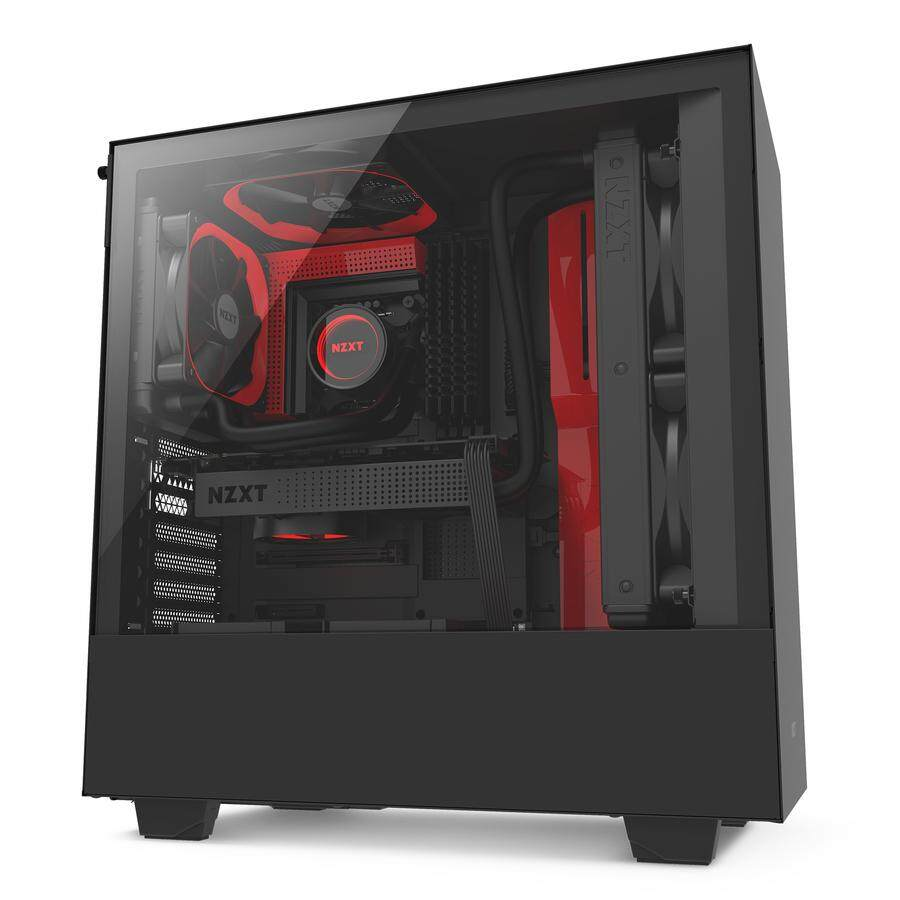 NZXT H500 Compact ATX Mid-Tower Case with Tempered Glass Malaysia