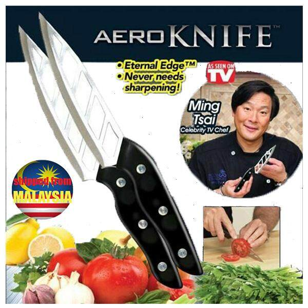 Aero Knife - Micro Edge Blade Food Never Sticks By Gogak 2u.