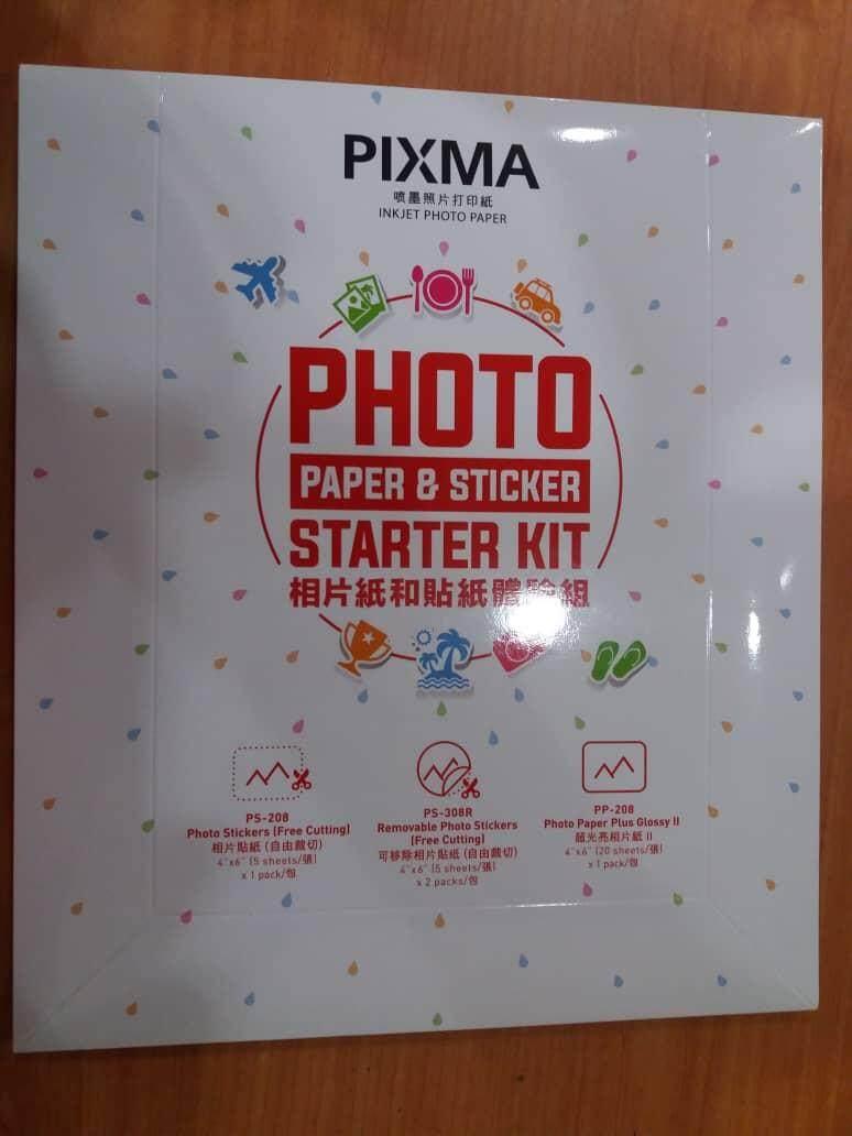 CANON PIXMA INKJET PHOTO PAPER PS-208 PS-308R PP-208