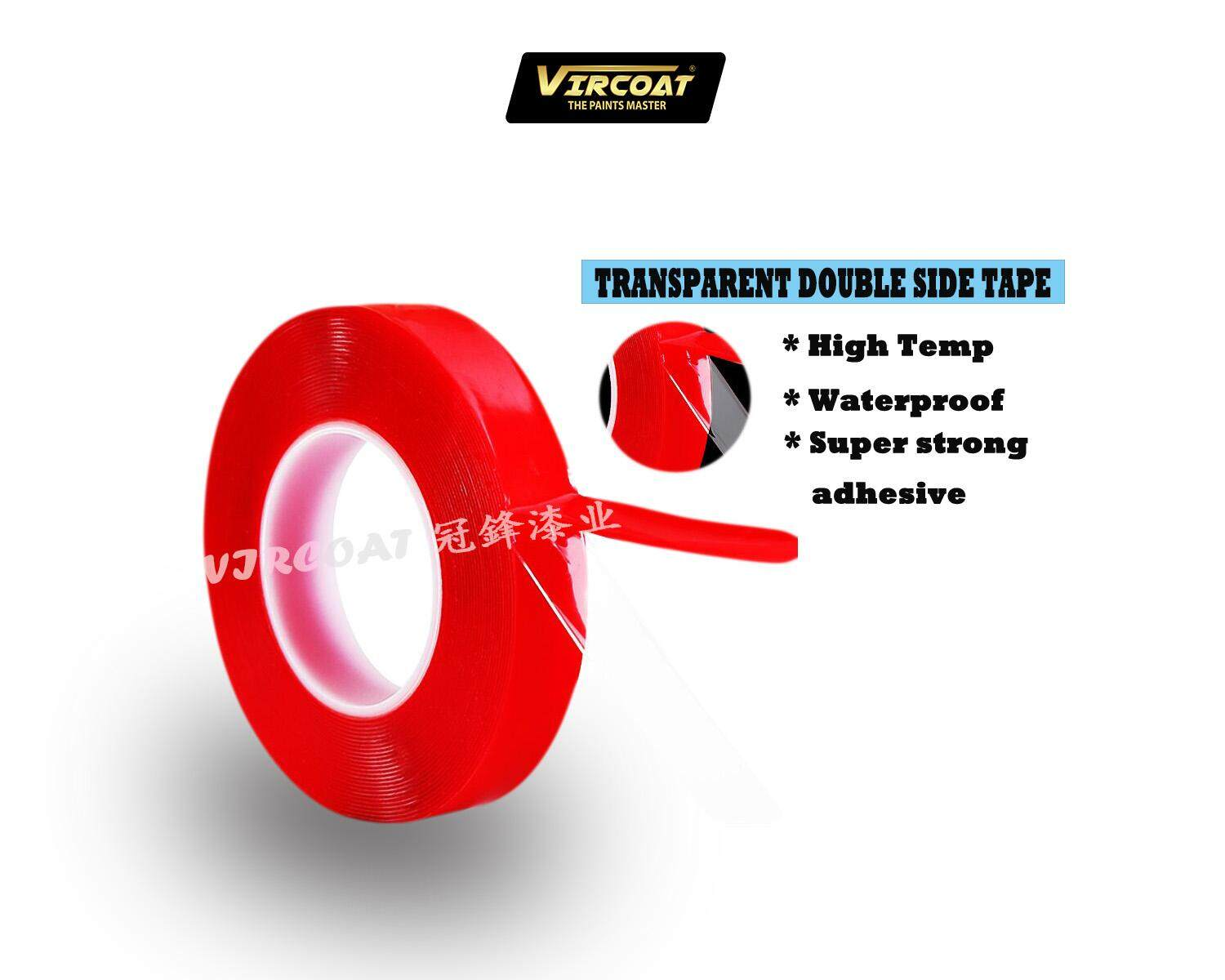 10mm*10M Strong High Temperature Automotive Foam Tape/ Transparent Double Side Tape