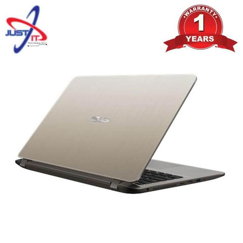 ASUS A407U-ABV321T (GREY) / A407U-ABV363T (GOLD) I3-8130U 4GD4 1TB WIN10H Malaysia