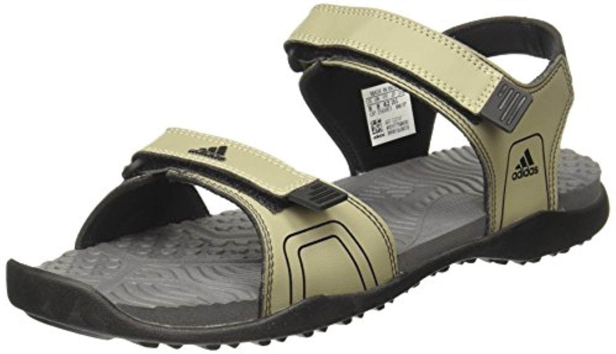 separation shoes b18bc 314ef Adidas Men s Gempen M Tracar Cblack Visgre Sandals and Floaters - 7 UK