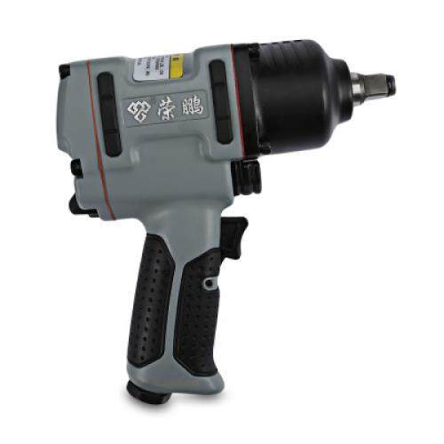 RONGPENG 7445 PROFESSIONAL 1/2 INCH TWIN HAMMER AIR IMPACT WRENCH (BLUE GRAY)