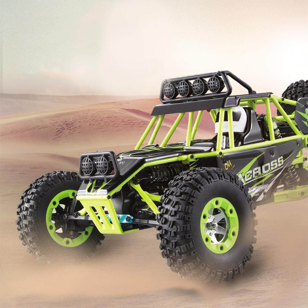 Outops WLtoys 12428 1:12 4WD Crawler RC Car Electric Four-wheel Drive  Climbing RC Car with LED Light RTR