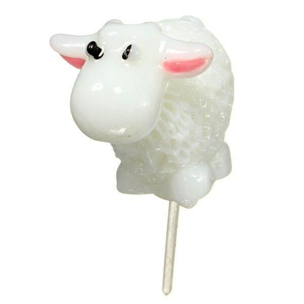 home decor Doll Mini White Goat