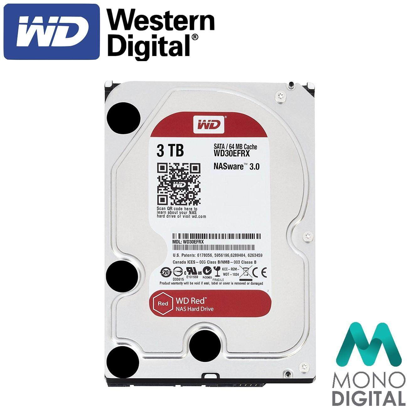 Wd External Hard Disk With Best Online Price In Malaysia Hardisk Ssd My Pasport 256gb Western Digital Red 3tb Network Attached Storage Nas 64mb Sata Iii Drive