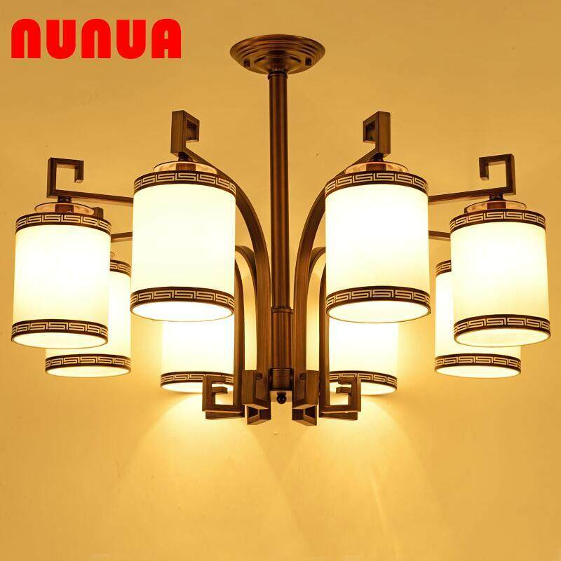 Lamps 20th Century Beautiful Suspension Ceiling Light Glass Tinted Beautiful Reflection Roof Light The Latest Fashion