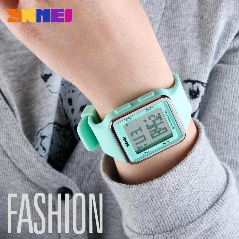 SKMEI New Outdoor Sports Watch Women Men Children Digital LED Alarm Chrono Water Resistant Calendar Wristwatch For Kids Gift 1139 Malaysia