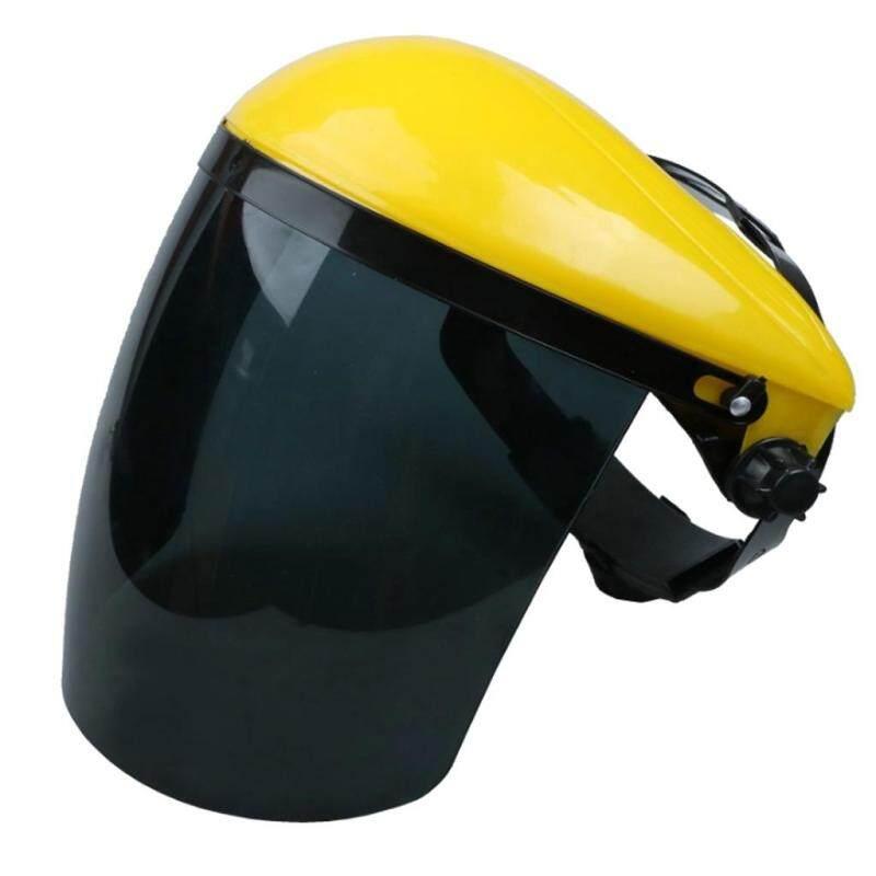 MagiDeal Full Face Shield & Visor Hat Hedge Cutting Eye Protective Helmet Grey