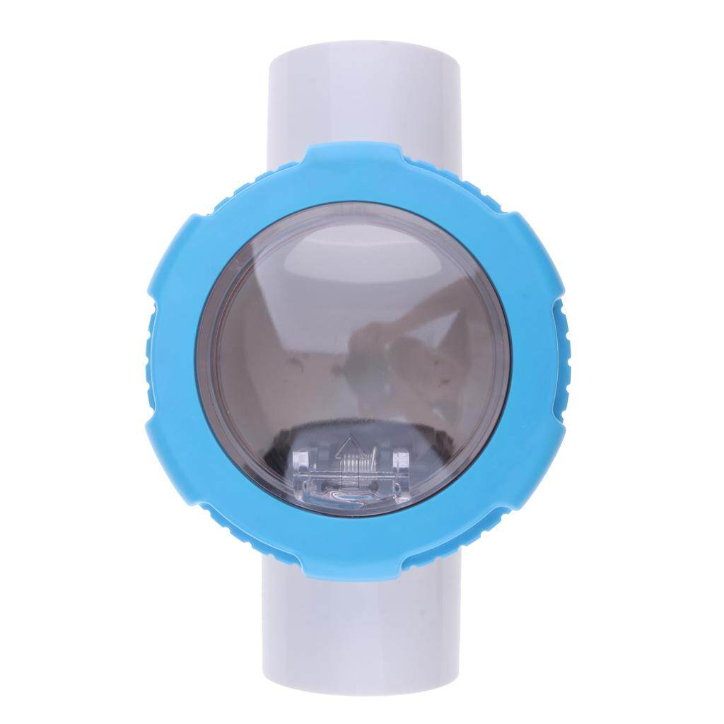 MagiDeal Non Return Clear Chamber Check Flapper Valve 63mm for Swimming Pools
