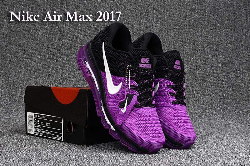 9a5a78b7b8 Product details of 2018 New Arrival Air Fashion Running Shoes For Women Top  Quality Max-2017 Sneakers Purple White