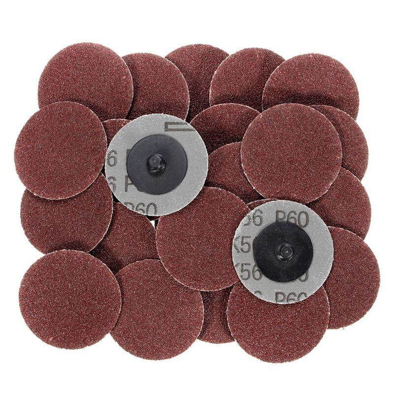 25pcs/lot 2 Inch Disc Sanding Abrasive Roll Lock Coarse:120 Grit