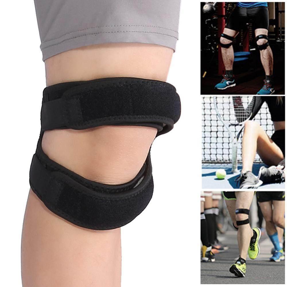 Adjustable Pressure Patella Support Belt Sporting Running Hiking Kneepad Fitness Knee Protector