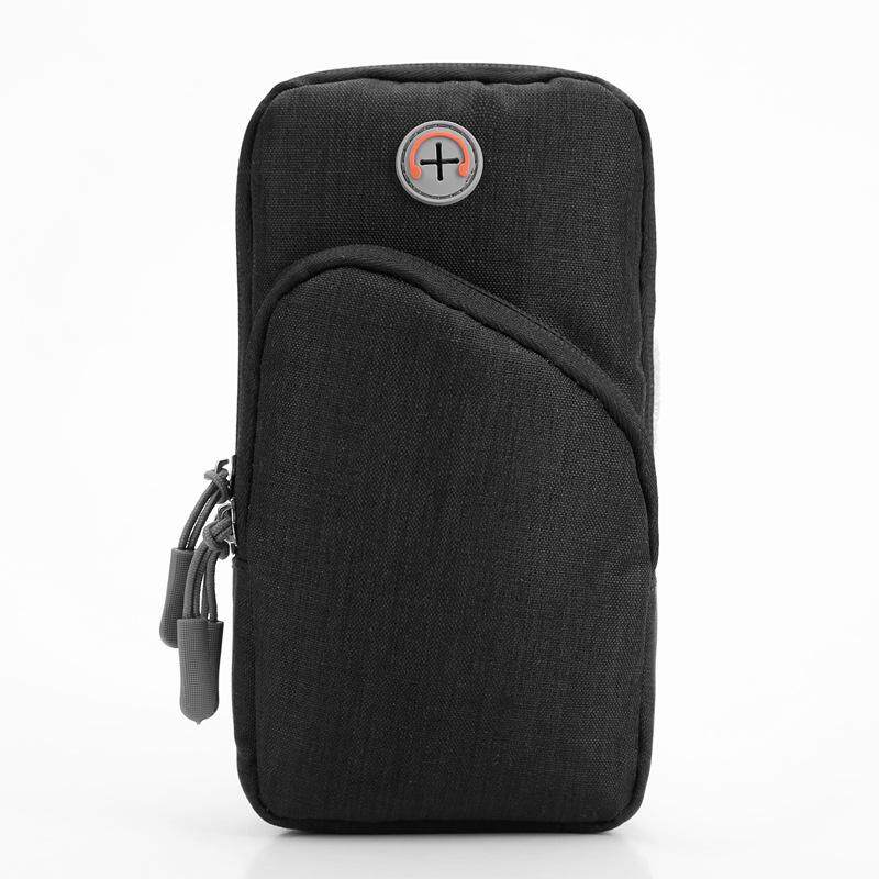 Sports Armband Fitness Running Gym Universal Smartphone Arm Bag with  Earphone Hole Multifunctional Pockets Hiking Phone 99d3982bec189