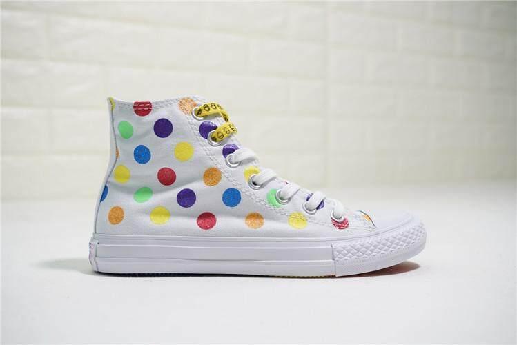 Converse Official WOMEN Skateboarding Shoes x Pride Chuck Taylor All Star  High Top Global Sales ( e7a265b90a