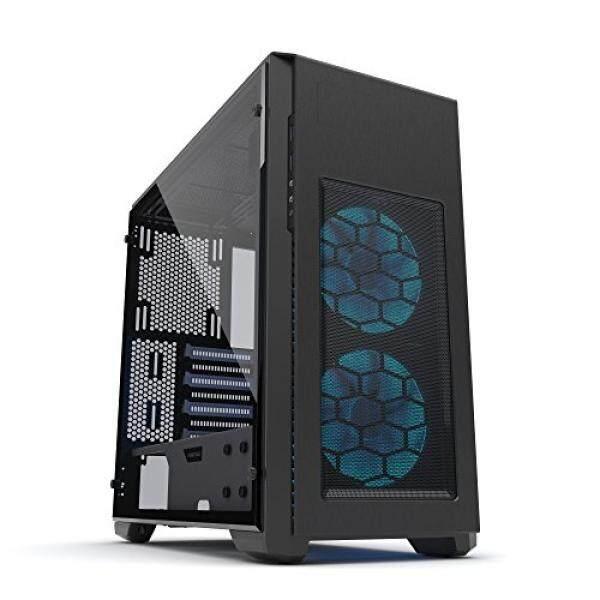 Phanteks Pro M Tempered Glass, Black/White, PH-ES515PTG_SWT Malaysia