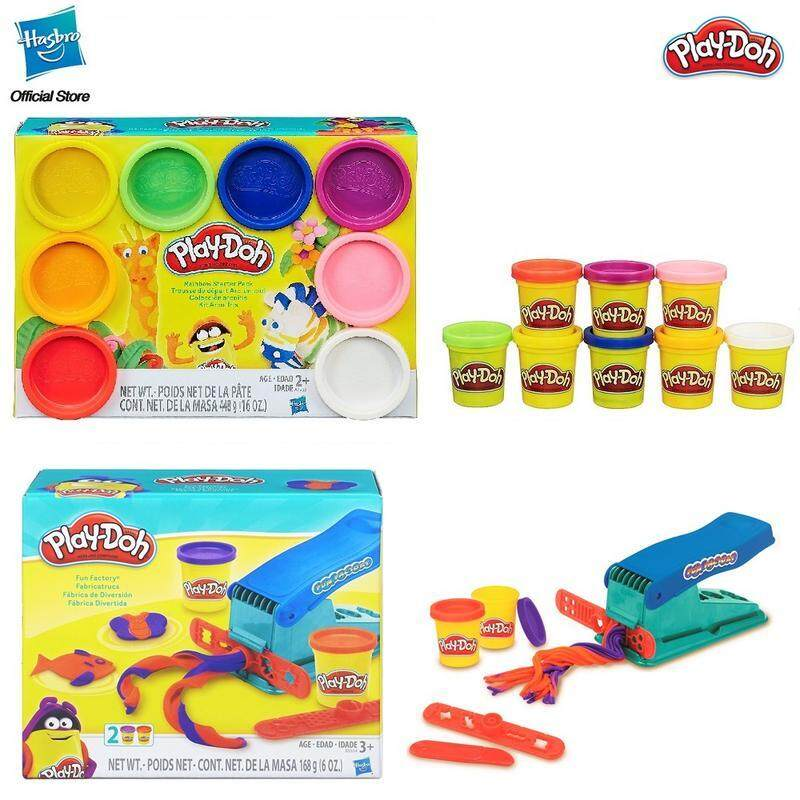 [Bundle Pack] Play-Doh Rainbow Starter Pack + Play-Doh Fun Factory