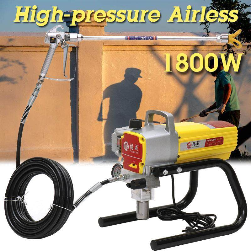 1800W 220V 4500PSI FC4500 High Pressure Airless Wall Paint Sprayer Painting Tool