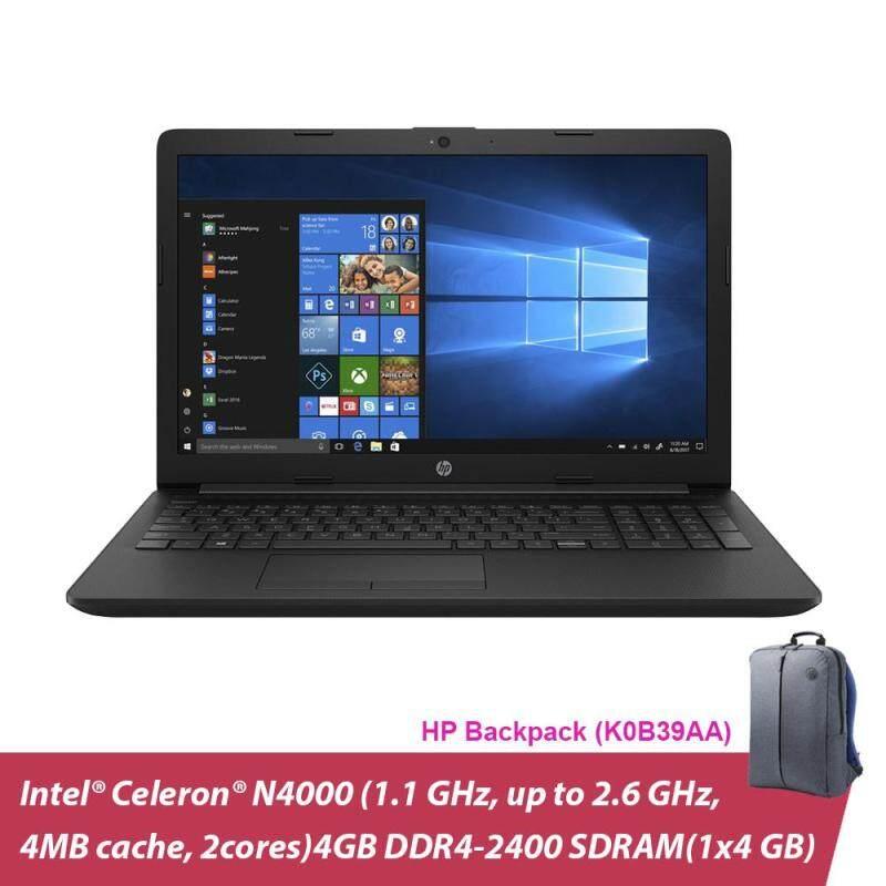 HP 14-CK0096TU 14 Laptop/ Notebook (N4000, 4GB, 500GB, Intel, W10H) + HP Backpack Malaysia