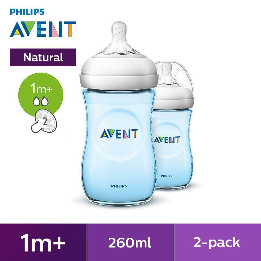 Philips Natural Baby Bottle (blue) Scf695/23 By Philips Avent.