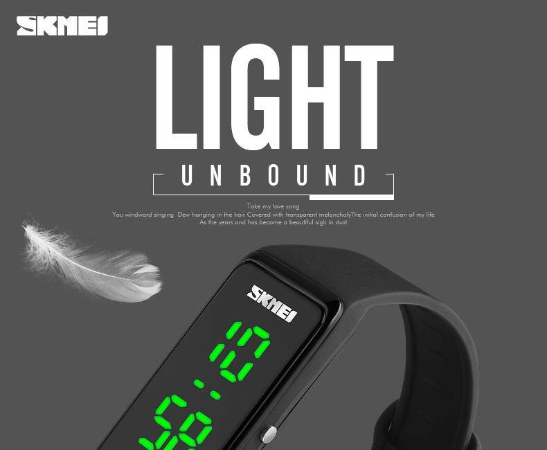a8bc1da0c SKMEI 1265 Women Sports Watches Girls Simple Design LED Watch Ladies ...