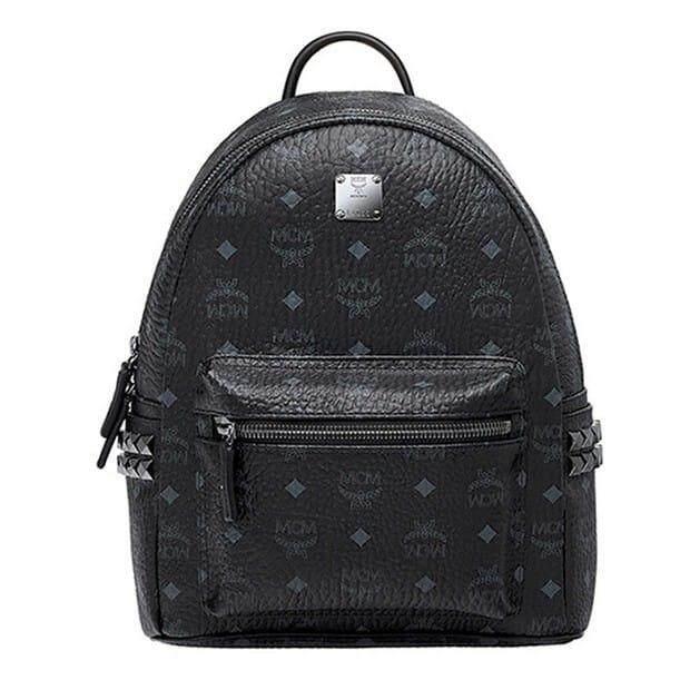 MCM Stark Series Small Backpack MMK6SVE37BK01