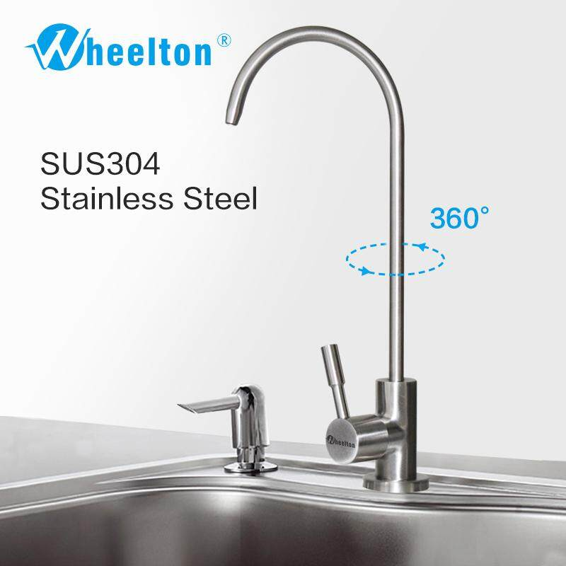 Wheelton RO Faucet 304 Stainless Steel Lead-free Kitchen Drinking Water Tap For Filter Purify System